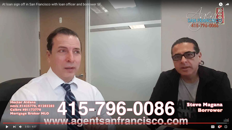 HOME MORTGAGE LOAN CLOSING SAN FRANCISCO | SATISFIED BORROWER | MORTGAGE LOANS SF