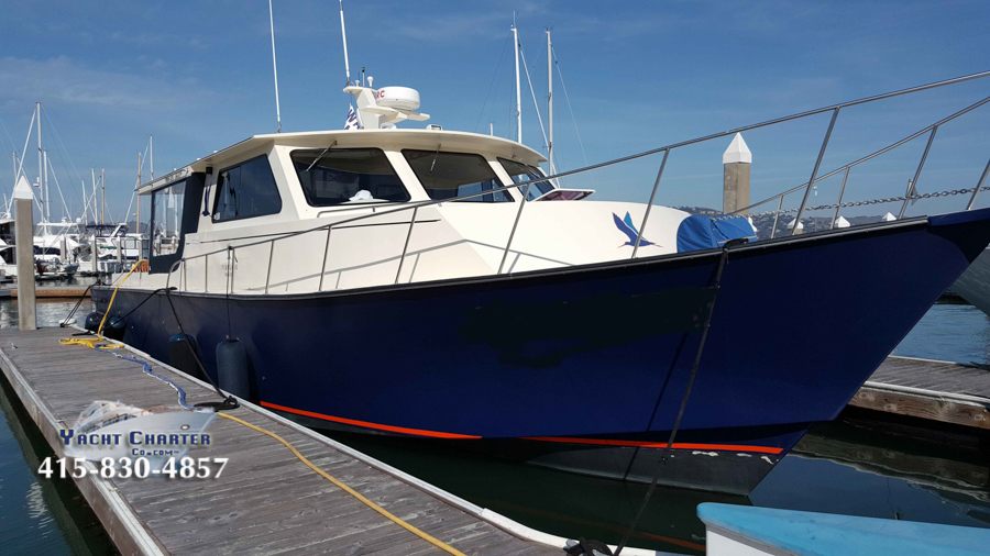 Yacht Charter Co SF Motor Yacht 55 foot-12
