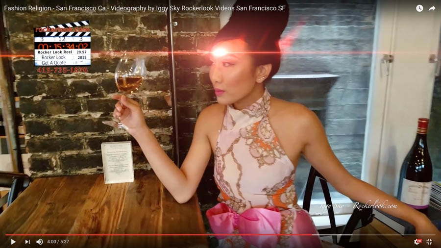 Fashion Religion - San Francisco Ca - Videography by Iggy Sky Rockerlook Videos San Francisco SF