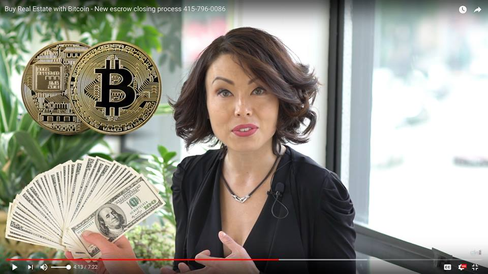 Buy Real Estate with Bitcoin - New escrow closing process | 415-796-0086